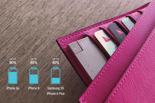 Lifecard创意,薄到能放进钱包的充电宝创意设计