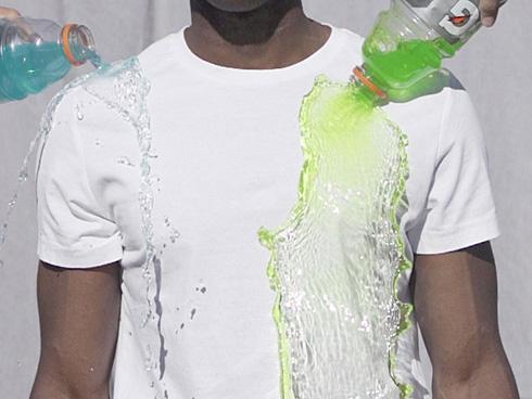 特破性防水T恤创意设计