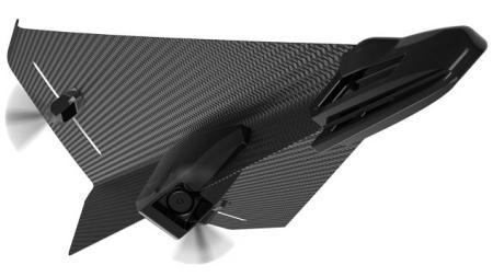 """碳纤维遥控""""纸""""飞机创意设计"""