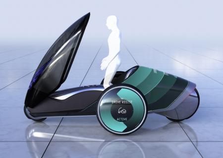 丰田FV2四轮代步车创意设计