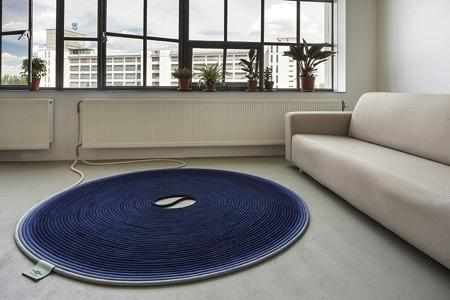线圈式可加热地毯创意设计