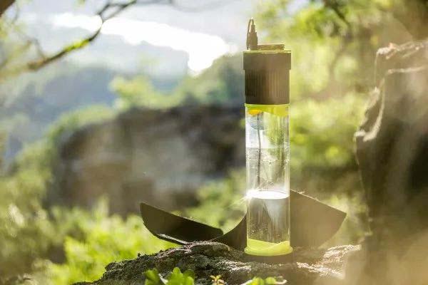 Fontus一个可以自己制水的杯子创意设计