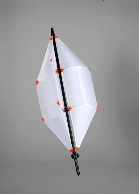 便携微型风力发电装置创意,野外活动必备创意设计
