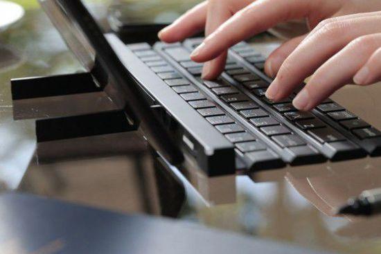 LG推出卷轴式键盘:LG创意,Rolly创意设计