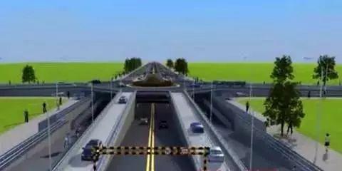 大叔创意设计新型立交桥创意,能有效提高10倍通行效率