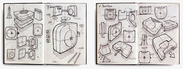 便携电子鼓创意设计