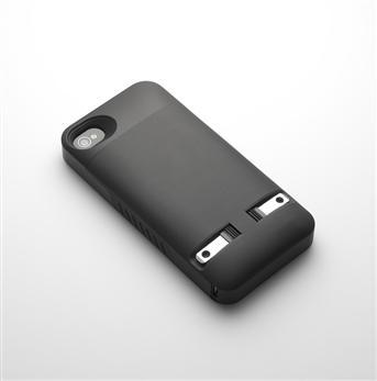 PocketPlug创意,充电手机外壳创意