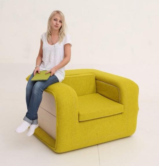 简约可爱沙发睡床创意设计