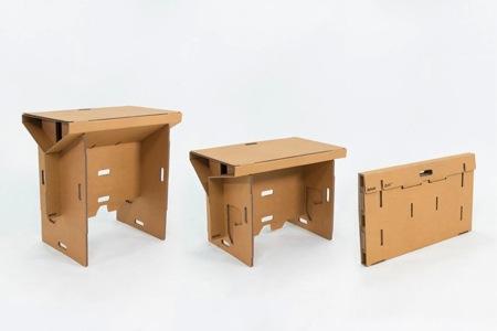 环保轻便硬纸板桌子创意设计