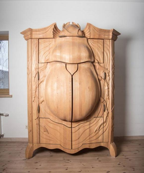 拉风的甲虫柜子创意设计