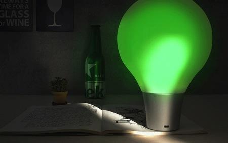 高科技吸色灯创意设计