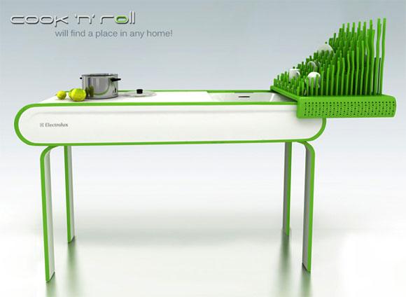多功能厨房桌创意设计