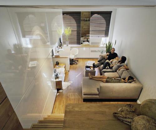 完美46平方米小居室创意设计