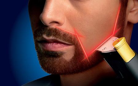 飞利浦带激光指示双头剃须刀创意设计
