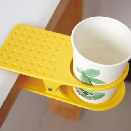夹在桌边的杯夹创意设计