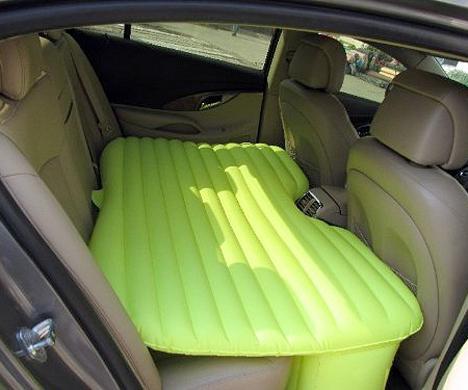 汽车后座充气床垫创意设计