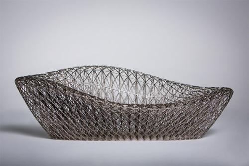 全球最复杂的3D打印躺椅创意设计