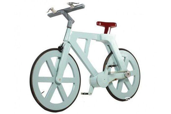 纸板自行车创意,成本仅需10美元