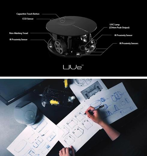 地板紫外线杀菌机UVE创意设计