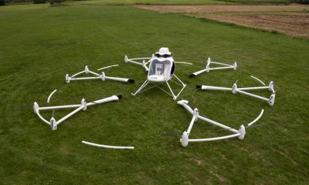 世界首架电动直升机创意设计