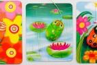 色彩缤纷的鼠标和鼠标垫组合创意设计