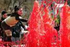 血色的喷泉创意设计