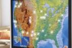 led灯地图创意设计