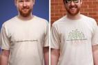 紫外线感应T恤创意设计