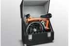 放在箱子里面的自行车创意设计