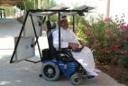 太阳能轮椅创意设计