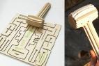 MC创意,一片木锤创意设计