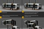 垂直升降的登机车创意设计