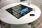 无线太阳能充电桌创意设计