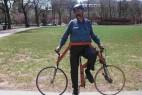 横行的自行车创意设计