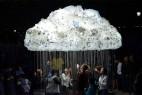 低空灯泡云创意设计