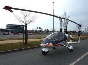 GyroDrive全球第一辆合法的飞行汽车创意设计
