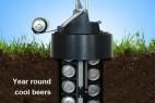 夏天必备之地窖啤酒装置创意设计