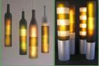 酒瓶手工灯具创意设计