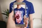 "Virtuali-tee创意,可""透视""器官的T恤创意设计"