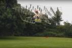 牛人打造54轴大型飞行器创意设计