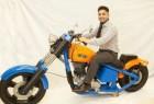全球首辆3D打印摩托车创意设计