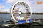 自制海上步行机穿越爱尔兰海创意设计
