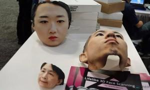 """360度无死角3D人脸相机创意,拍出来还能做成""""人皮面具"""""""