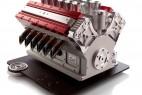 超霸气V12引擎咖啡机创意设计