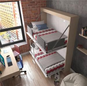 可收纳双层床创意设计