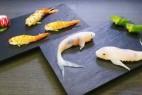 活灵活现的锦鲤寿司创意设计