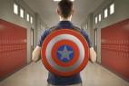 美国队长盾牌背包创意设计