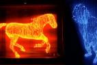 LED灯的艺术品创意设计