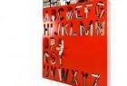 创意字母书架创意设计