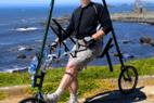 GlideCycle自行车创意,没有链条没有脚蹬